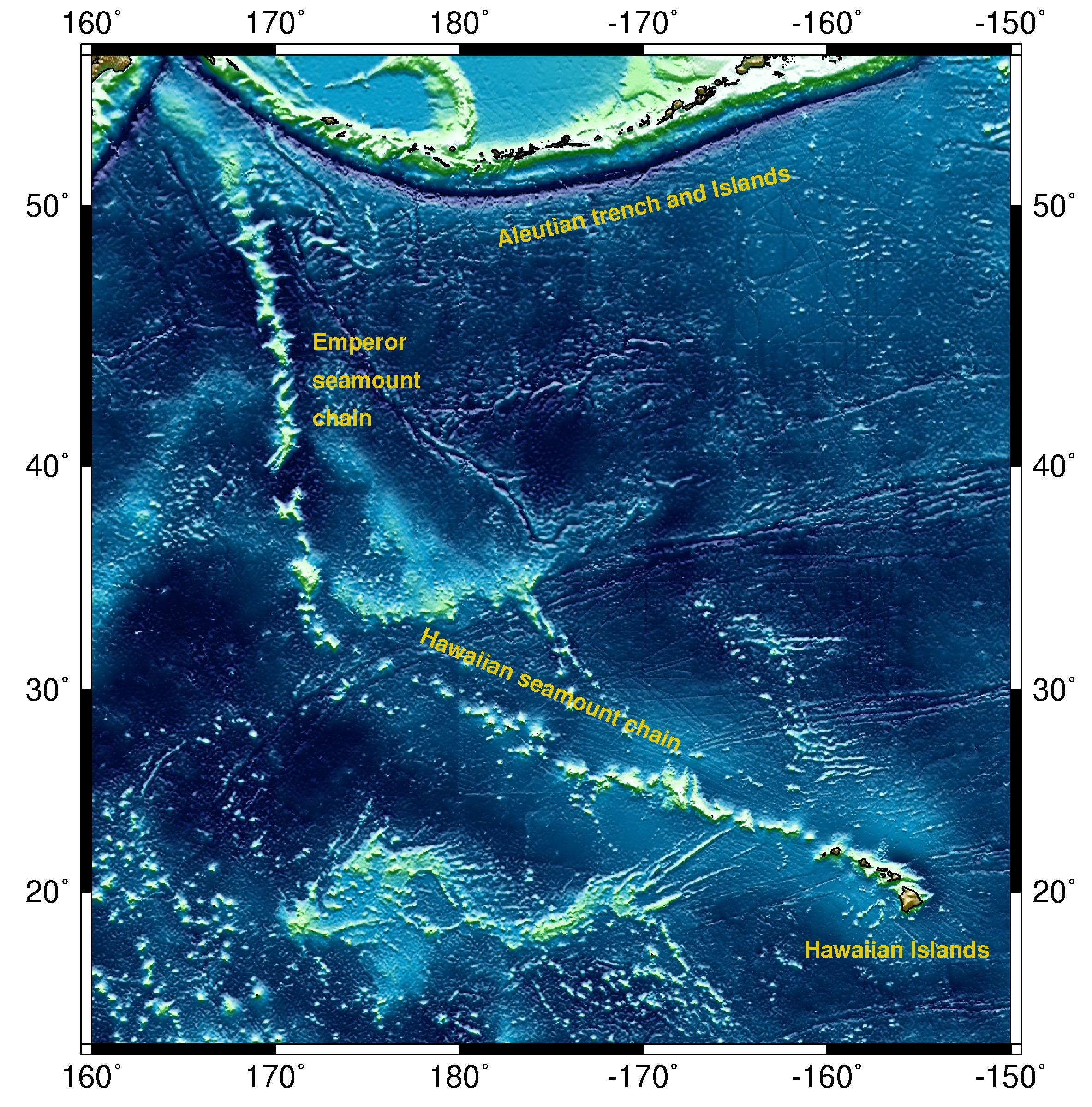 Hawaii Emperor Seamount